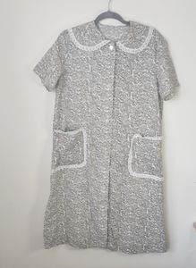 Vintage Floral and Lace House Dress/Pajamas
